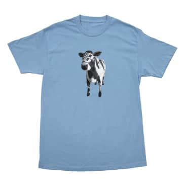 Bronze 56k Cow T-Shirt - Carolina Blue