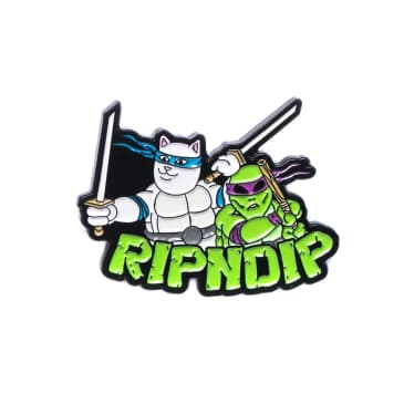 RipNDip Teenage Mutant Lapel Pin