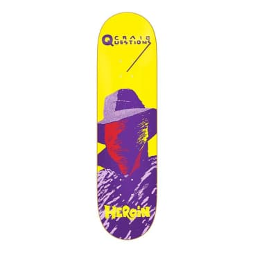 "Heroin Questions Giallo 8.75"" Deck"