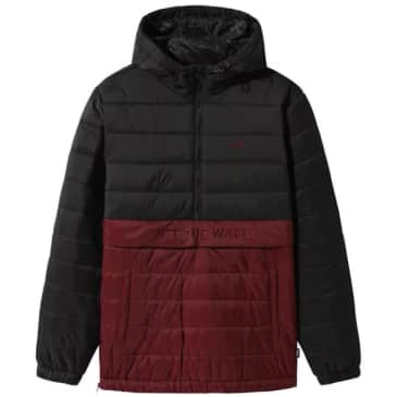 Vans Carlton Puffer Anorak - Black / Port Royal