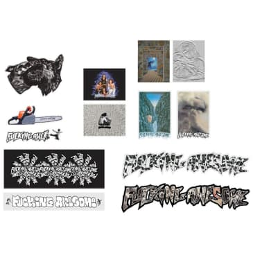 Fucking Awesome FA 2021 Sticker Pack, assorted
