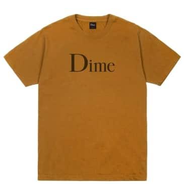 Dime Classic T-Shirt - Coffee