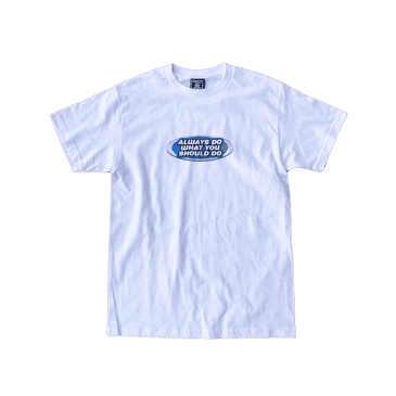 always do what you should do - pro surfer t-shirt