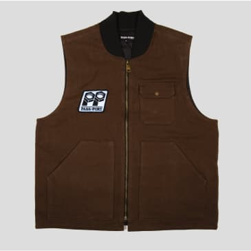 Pass Port - Packers Vest (Chocolate)