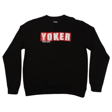 Focus Yoker Crewneck Sweatshirt - Black