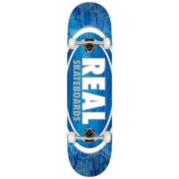 """Real - Team Oval Pearl - Complete Skateboard - 8.38"""""""