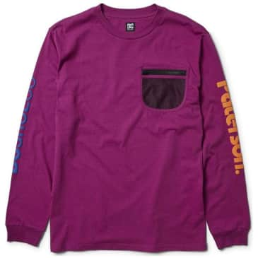 DC Shoes x Paterson Field Tech Long Sleeve - Purple