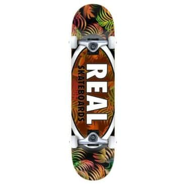 Real Skateboards - Team Tropics Team Oval Complete - 7.75""