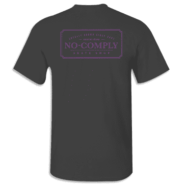 No-Comply Locally Grown Shirt - Black Ultra Violet