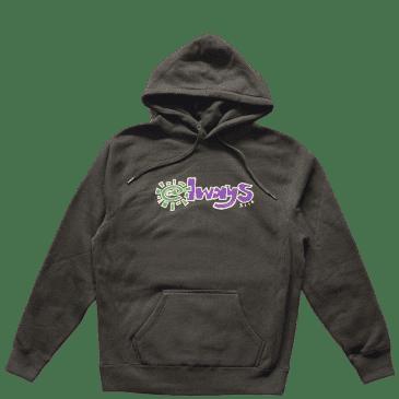 always do what you should do always 3116 hoodie - Black