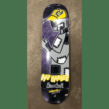 Krooked Barbee Redux Skateboard Deck 8.25