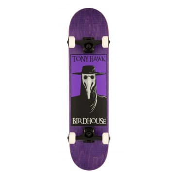 Plague Doctor (Purple) Stage 3 Complete Skateboard 7.5
