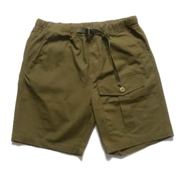 Red Ruggison Hiking Shorts - Military