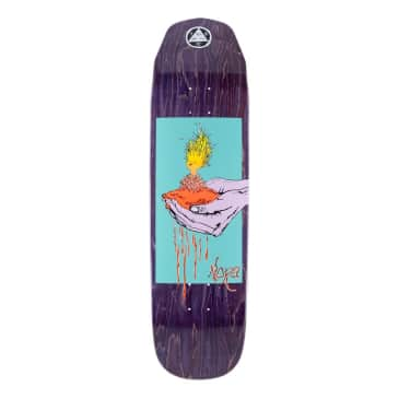"""Welcome Soil on Wicked Queen Deck 8.66"""" (Purple Stain)"""