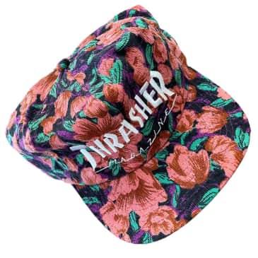 Thrasher Hat Mag Logo Pink Floral Cord