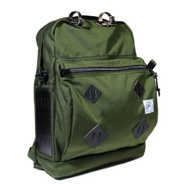 Epperson Mountaineering Day Pack + Leather Patch - Moss