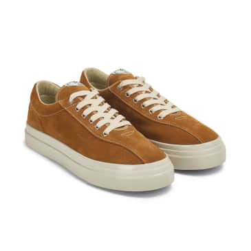 Stepney Workers Club Dellow Mens Suede Shoes - Tan