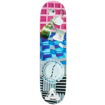 Palace Skateboards Brady Pro S22 Skateboard Deck - 8.0""