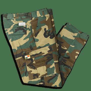 No-Comply Cargo Pants -Panama- Camo
