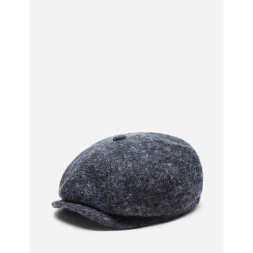 Stetson Hatteras Donegal Newsboy Cap (Wool) - Blue