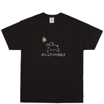 Alltimers Claire Pup T-Shirt - Black