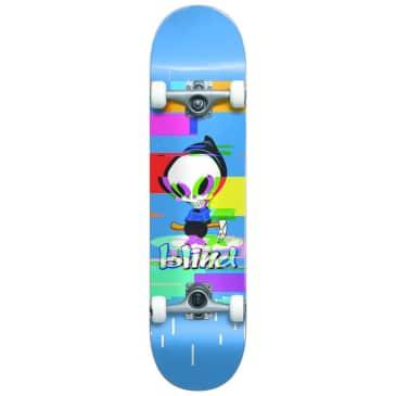 "Blind Reaper Glitch Blue FP Complete Skateboard - 7.75"""