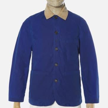 Universal Works Bakers Jacket - Blue Tek Wax