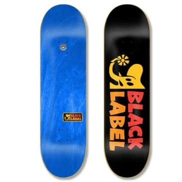 Black Label Skateboards Elephant Sector Skateboard Deck - 8.00