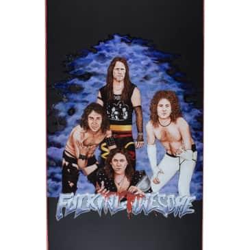 "Fucking Awesome Heavy Metal Skateboard Deck - 8.25"""