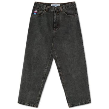 Polar Skate Co Big Boy Jeans - Washed Black