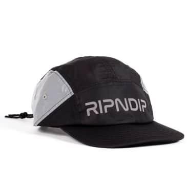 Rip N Dip Nerm Flight Camper Hat - Black