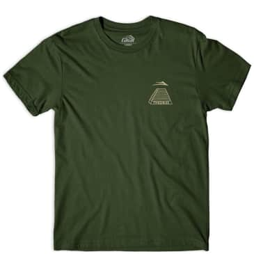 Lakai x Theories Pyramid T-Shirt - Olive