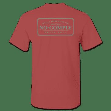 No-Comply Locally Grown Shirt - Cardinal Emerald