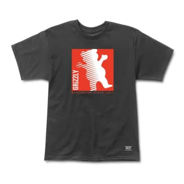 Grizzly - On The Grind Tee - Black
