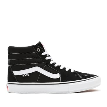 Vans Skate Sk8-Hi Shoes - Black /White