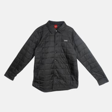 Baker Skateboards Boss Quilted Jacket Black
