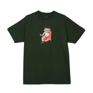 Baker Skateboards TV FRST Tee - Green