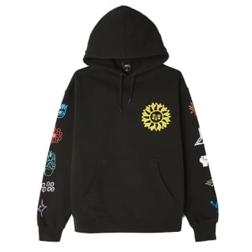 Peace Justice Equality Box Fit Pullover Hood