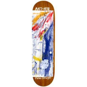 Anti Hero - Stranger SF Then And Now - Skateboard Deck - 8.4''