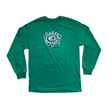 always do what you should do - green long sleeve @sun t-shirt