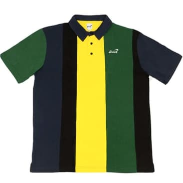 Snack Skateboards - Alive Vertical Stripe Polo