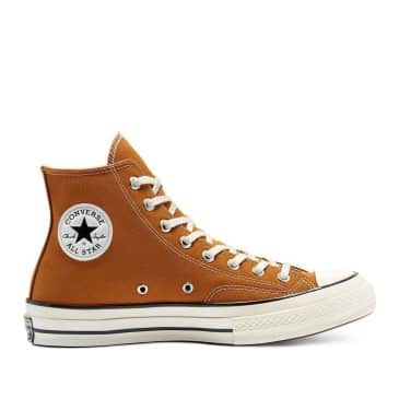 Converse Chuck 70 Hi Shoes - Dark Soba / Egret / Black