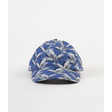 THE QUIET LIFE PALM POLO HAT - BLUE