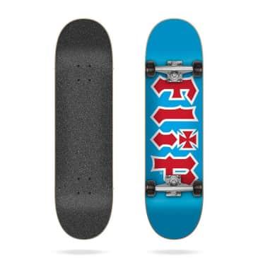 "Flip Skateboards - 8.0"" HKD Team Blue Complete Skateboard (Black Wheels)"