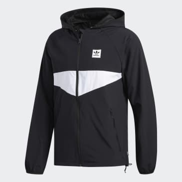 adidas Dekum Packable Wind Jacket - Black/White