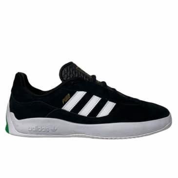 Adidas Puig Black White Green