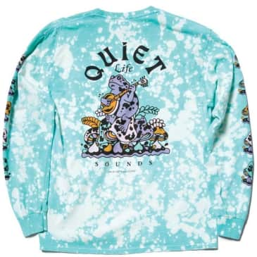 The Quiet Life Sounds Long Sleeve T-Shirt - Tie Dye