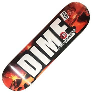 "Baker X Dime Volcano Deck (8.5"")"