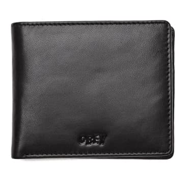 OBEY Vandal Jumble Bi-Fold Wallet - Black