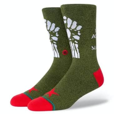 STANCE RENEGADES SOCK- ARMY GREEN